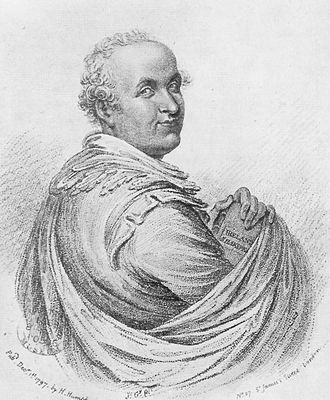 Samuel Ireland - Caricature of Samuel Ireland