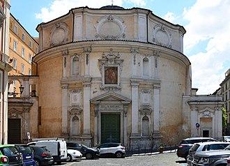 San Bernardo alle Terme - Image: San Bernardo alle Terme (Rome) Front