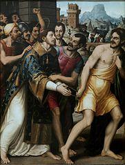 Saint Stephen is led to Martyrdom