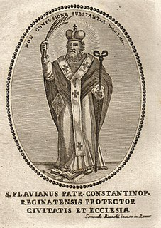 Flavian of Constantinople Archbishop of Constantinople