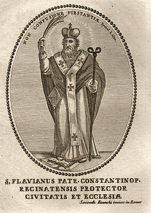 Flavian of Constantinople - Saint Flavian