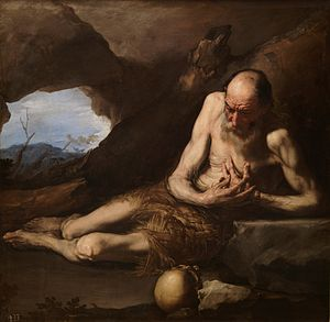 "Paul of Thebes - Saint Paul, ""The First Hermit"", Jusepe de Ribera, Museo del Prado (1640)"