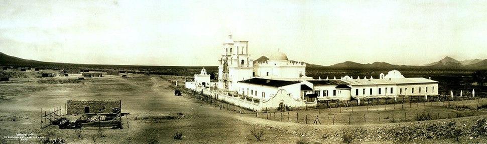 San Xavier del Bac, c1913