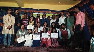 Hanumannagar,Saptari,Gajendra Gajur,Dhirendra Premarshi,Rupa jha ,Chhat puja image,Kosiya program,