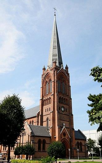 Ludvig Fenger - Image: Sankt Jakobs Kirke Copenhagen