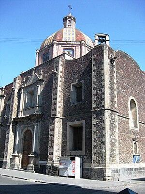 José Luis Cuevas Museum - Church of Santa Inés.
