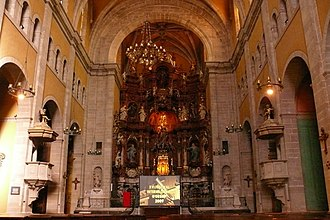 Basilica of Santa Maria, Igualada - Main altarpiece