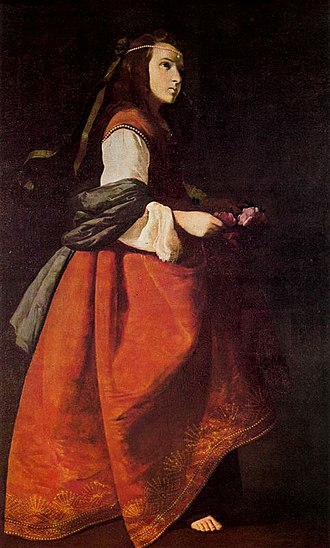 Miracle of the roses - Santa Casilda