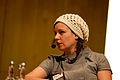 Sara Stridsberg, vinnare av Nordiska radets litteraturpris 2007 pa seminariet, forfattaren i boken, pa bokmassan i Goteborg 2007-09-29 (3).jpg