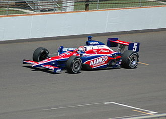 Sarah Fisher - Practicing for the 2007 Indy 500