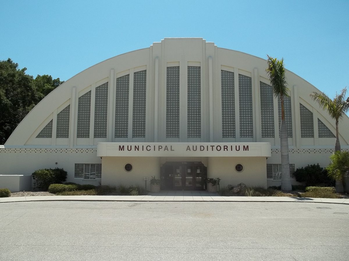Sarasota Municipal Auditorium Wikipedia