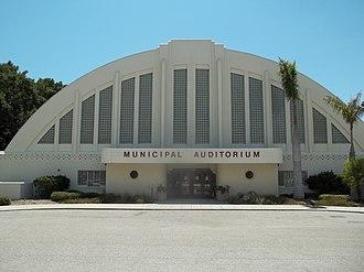 Sarasota Municipal Auditorium - Image: Sarasota FL Municipal Aud 03