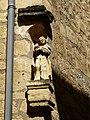 Sarlat-la-Canéda abbaye Ste Claire niche.JPG