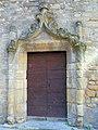 Sarlat - Portail gothique angle rue des Consuls et rue Peyrat -554.JPG
