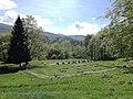 Sarmizegetusa Regia- Sanctuarul mare de calcar-perspectiva.jpg