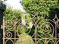 Sarn Meyllteyrn standing stone and gate - geograph.org.uk - 562505.jpg