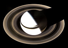 Saturn from Cassini orbiter