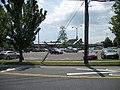 Sayville LIRR Station from Lakeland-Railroad Avenue.JPG