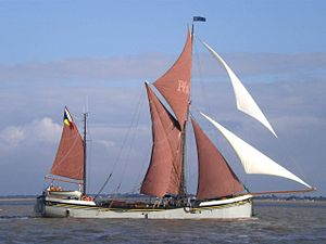 Will (Thames barge) - Image: Sb will