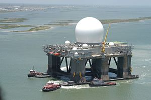 Sea-based X-band Radar - Image: Sbx 050701 001