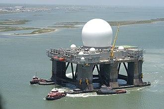 Sea-based X-band Radar - Image: Sbx 050701 001