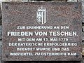 Schärding, Tafel Friede von Teschen, 2.jpeg