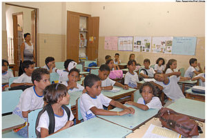 Education policy in Brazil - School in the Northeast of Brazil