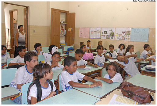 School in the Northeast of Brazil