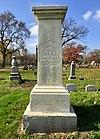 Schuyler Colfax gravesite