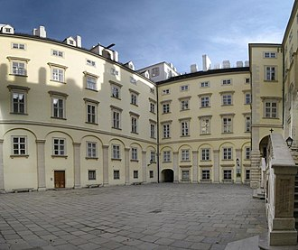 Governor of Hofburg Palace - The offices of the governor of the Hofburg are located in the Swiss Wing (Schweizertrakt)