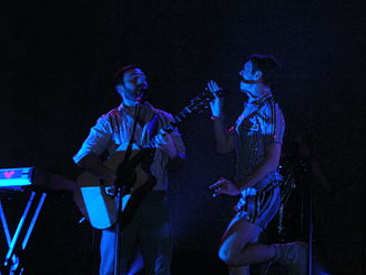 Scissor Sisters - Scissor Sisters on tour in St. Louis, 2007