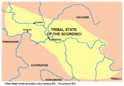 Tribal state of the Scordisci (3rd–1st century BC)