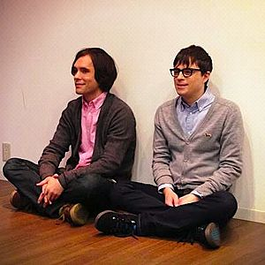 Scott & Rivers - Scott Murphy, Rivers Cuomo (L-R)