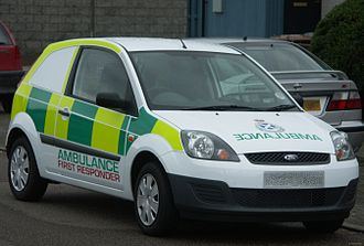 "Community first responder - Scottish Ambulance Service ""First Responder"" vehicle"