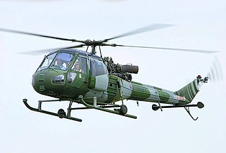 Westland Scout - A Scout flying over RIAT in 2005