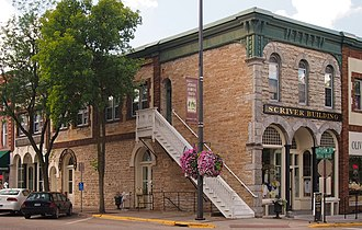 Northfield, Minnesota - The Scriver Building in Northfield, Minnesota.