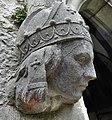 Sculptures at Holy Trinity Church - Eglwys y Drindod - Trefnant, Sir Ddinbych - Denbighshire 05.jpg
