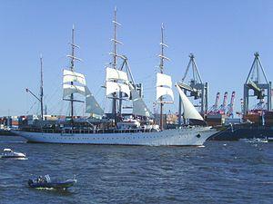 Hafengeburtstag - Sea Cloud in Hamburg in 2011