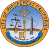 Official seal of Ridgecrest, California