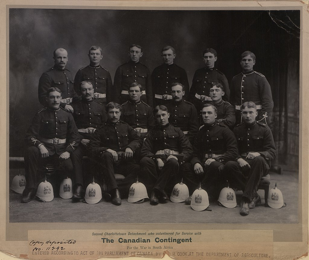 Second Charlottetown Detachment who volunteered for service with the Canadian Contingent for the war in South Africa (HS85-10-11292).jpg