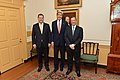 Secretary Kerry, Canadian Foreign Minister Baird, and Mexican Foreign Secretary Meade Pose for a Photo (11997332023).jpg