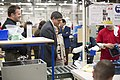 Secretary Lew tours Vitamix manufacturing facility during trip to Cleveland, Ohio (8723478485).jpg