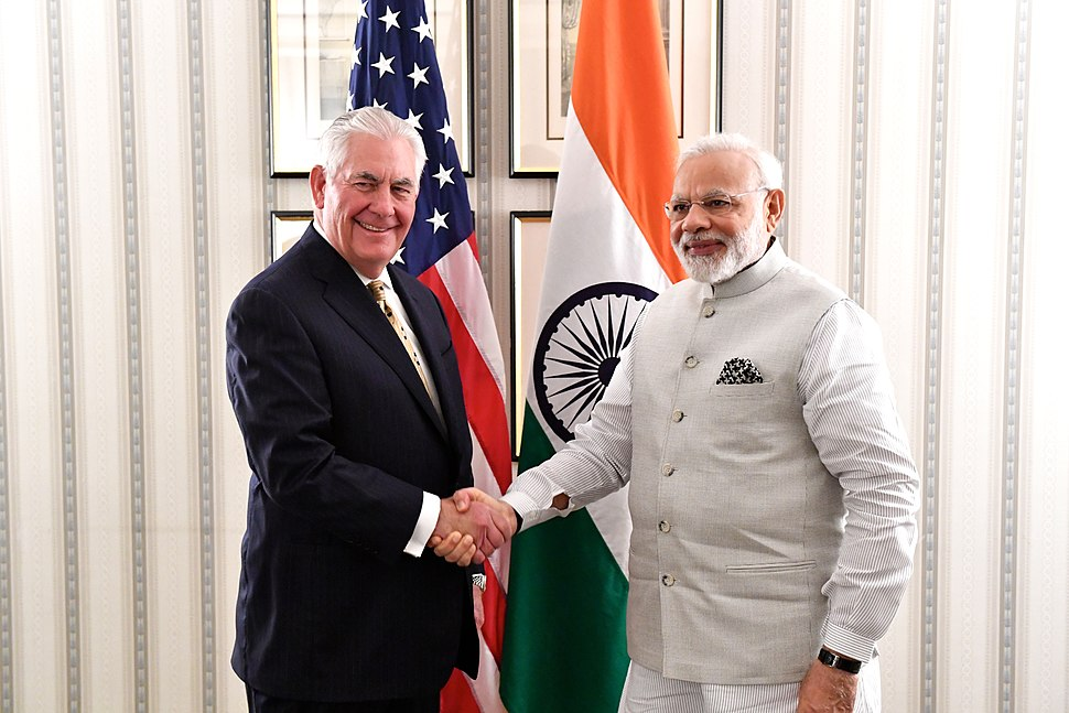 Secretary Tillerson Meets With Indian Prime Minister Modi in Washington (35421314671)