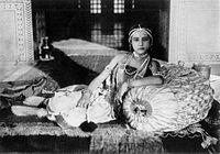 Seeta Devi as Gopa in film, Prem Sanyas (The Light of Asia) 1925