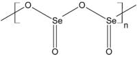 Struktur von Selendioxid