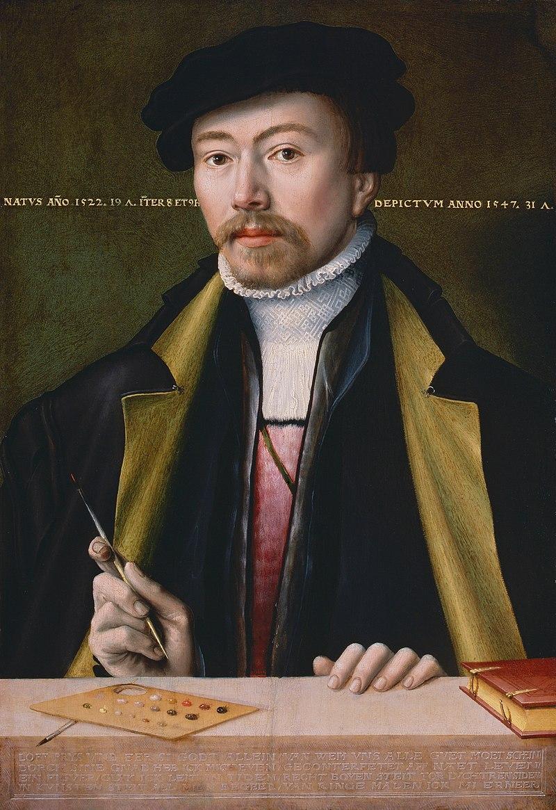 Автопортрет (ок. 1547)