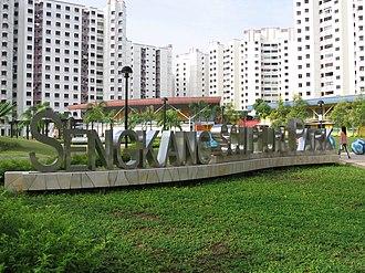 Sengkang Sculpture Park - Sengkang Sculpture Park in 2005