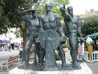 Senj - Image: Senj statue