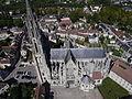 Senlis - Cathédrale Notre-Dame, vue aérienne 2.JPG