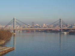 Serbia, Belgrade, New Railway bridge, 02.01.2012. 2.jpg